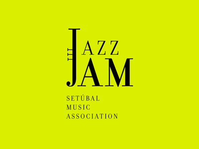 JazzJam logo vector typography type logo identity design branding illustrator illustration
