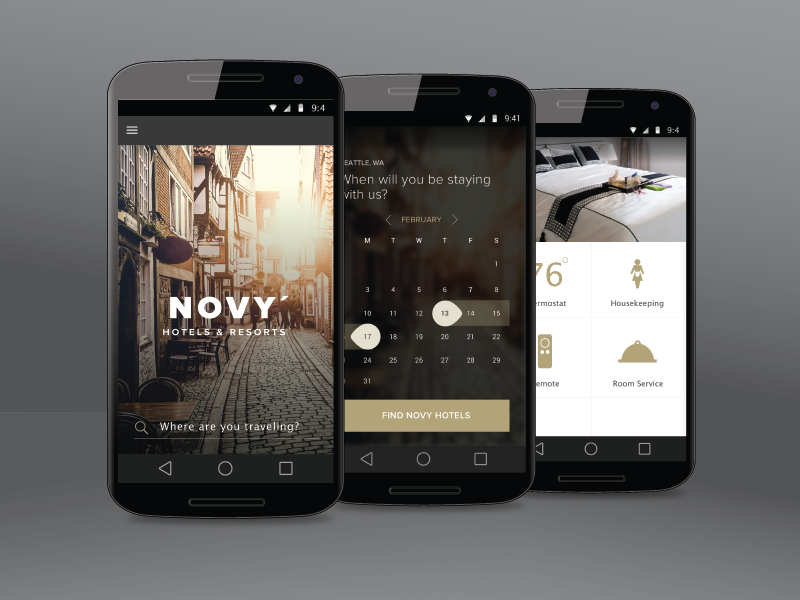 Novy Hotels and Resorts mobile app android