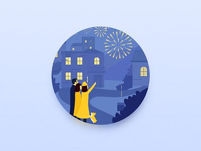 Happy Hours illustration 插画 design