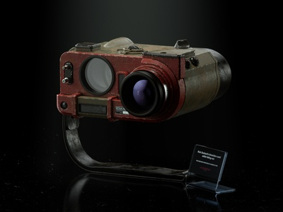 Blade Runner 2049 Deckard s Binoculars II redshift3d photoshop maxon hard surface modeling fusion 360 digitalart designinspiration design cinema4d c4d autodesk after effects adobe 3d