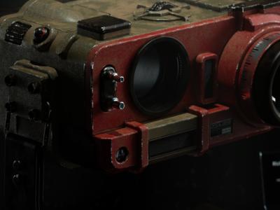 Blade Runner 2049 Deckard s Binoculars III redshift3d photoshop maxon hard surface modeling fusion 360 digitalart designinspiration design cinema4d c4d autodesk after effects adobe 3d