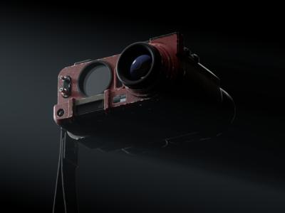 Blade Runner 2049 Deckard s Binoculars IV redshift3d photoshop maxon hard surface modeling fusion 360 digitalart designinspiration design cinema4d c4d autodesk after effects adobe 3d