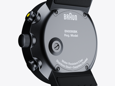 Braun Prestige Chronograph: Redux II redshift3d photoshop maxon hard surface modeling fusion 360 digitalart designinspiration design cinema4d c4d autodesk after effects adobe 3d