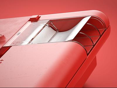 Olivetti Underwood 280: V hdr light studio chaos group v-ray vray photoshop hard surface modeling fusion 360 digitalart designinspiration design autodesk after effects adobe 3d