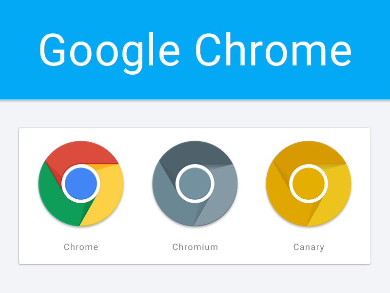 google chrome material design icons by jason zigrino dribbble