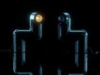 Tatu Lamp: Black