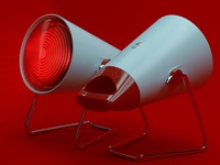 Philips InfraPhil Heat Lamp: I
