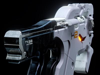 Mass Effect: Cerberus M-25 Hornet II