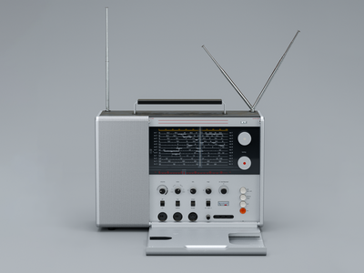 Braun T-1000 Multiband Receiver: I