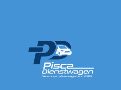 Logo Pisca Dienstwagen illustration branding creative logo fiverr fiverr.com graphic design fiverrgigs minimalist logo designer