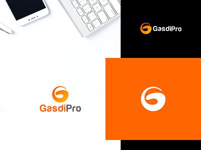 GasdiPro logo design fiverr.com fiverrgigs fiverr graphic design brand minimalist design minimal logo designer logo flat