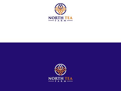 NORTH TEA fiverrgigs fiverr.com fiverr design flat graphic design minimal logo minimalist logo designer