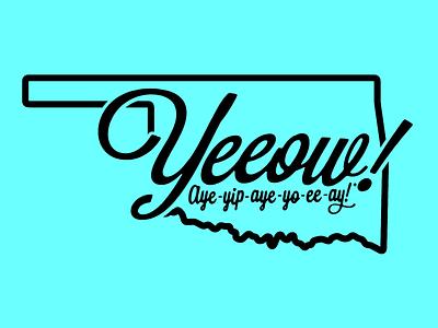 Oklahoma's Doin' Fine doin fine stamp type okie ok statehood oklahoma