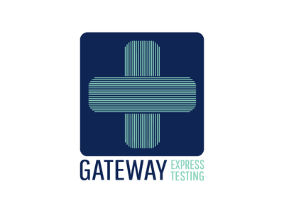 Gateway Express Testing Logo logo design logo health