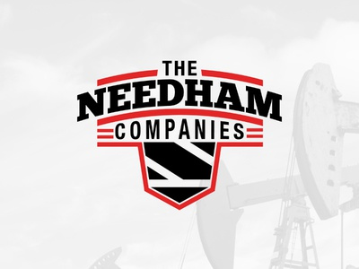 The Needham Companies Logo oklahoma branding logo crest natural gas oil