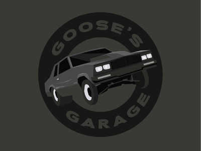 Goose's Garage route 66 goose grand national hot rod garage chevrolet chevy g body car