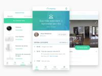 Memo app health hub iot smart home mobile