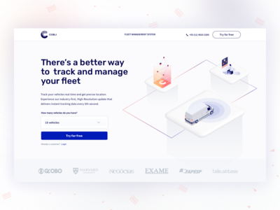 Landing Page and Illustrations