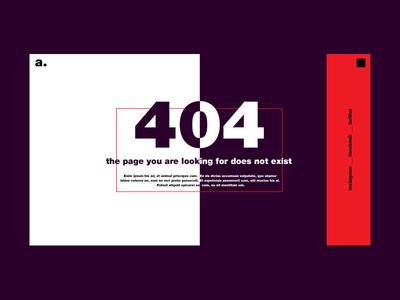 Aurora - 404 Error Page