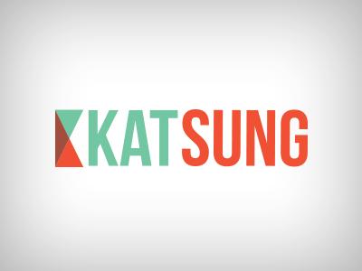 Kat Sung logo logo katsungdesigns identity illustration icon modern clean shapes contrast