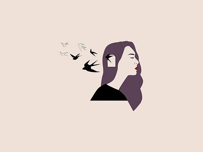 Free mind abstractart minimalist artist minimal abstract graphicdesign design drawing illustrator vectorart vectorillustration illustration vector artwork art freespirit freedom freemind free