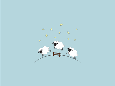 Counting sheep sleep vector sleep illustration sheep art lebanon graphicdesign vectorart vector illustrator drawing artist design illustration minimal lineart abstract doodleart doodle digitalart