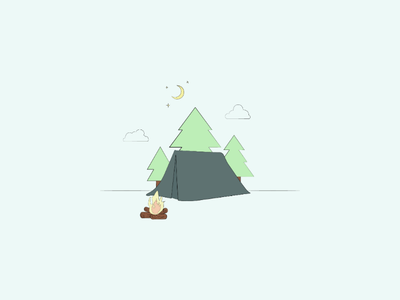 Camping 🏕 camp vector camp camping art lebanon graphicdesign vectorart vector illustrator drawing artist design illustration minimal lineart abstract doodleart doodle digitalart