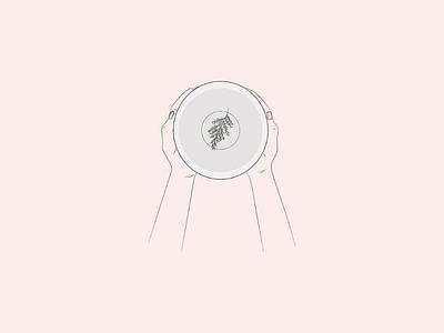 Empty plate food hunger vector hunger illustration hungry hunger empty plate artist art lebanon graphicdesign vectorart vector illustrator drawing illustration minimal lineart abstract doodleart doodle digitalart
