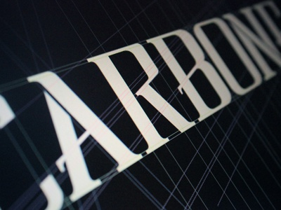 CARBONE Pro - Respect TYPEFACE Family typography typeface carbone mafia prohibition editorial design