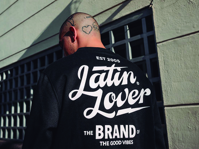 Latin Lover sweatshirt 2017 collection apparel clothing brand work lettering