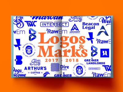 Logos & Marks melbourne sydney australia usa script serif sans lettering branding typography