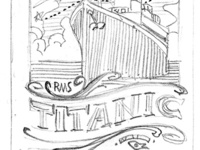 Titanic Poster Sketch