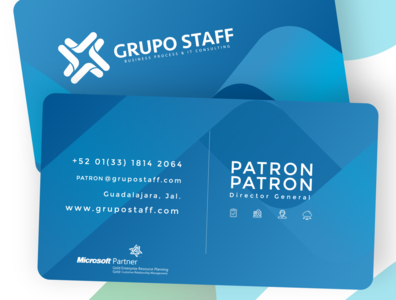 Grupo Staff | Business Card