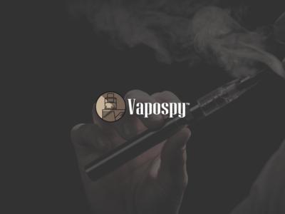Logo For Vapospy - Vaporizer Company