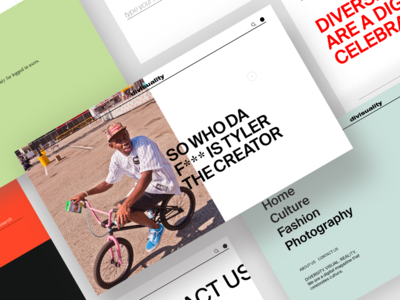 Divisuality Web Design