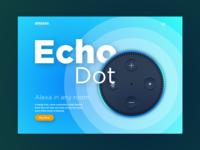 Amazon Echo Dot - Landing Page