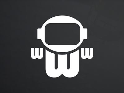 Webstronaut Symbol web astronaut identity brand logo