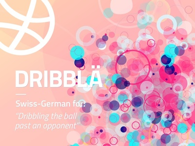Sälü Dribbble! swiss german ch schweiz soccer dribbling debut