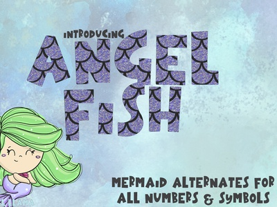 Angelfish Mermaid Font