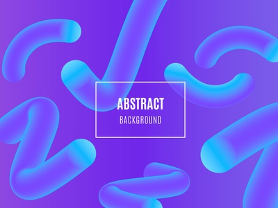Abstract gradient background with liquid shapes