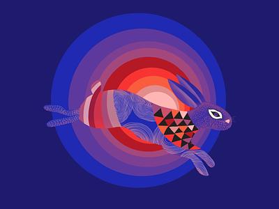 Bunny Illustration vector graphic design illustration rabbit bunny