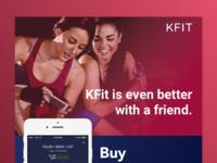 KFit Together Newsletter/Email Design