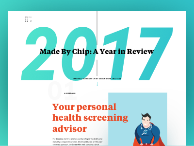 Made By Chip: A Year in Review 2017