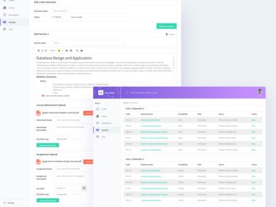 SaaS Product Course UI Design