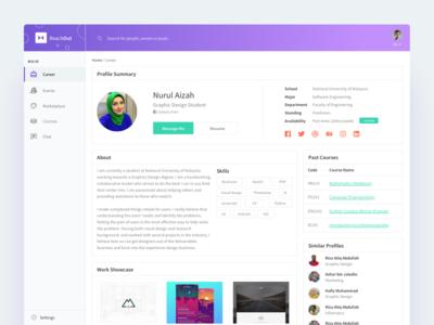 SaaS Product Career UI Design