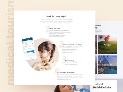 Medical Toursim Landing Page: How It Works