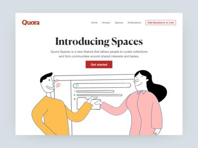 Quora Spaces