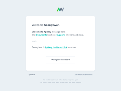 Default Welcome email template email design mail mailing