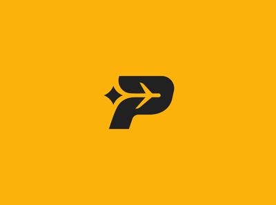 P + Plane logo