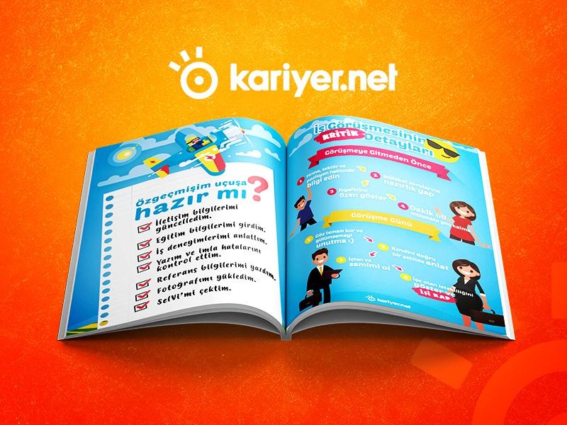 Kariyer.net Magazine Design magazine design magazine typography dribbble design corporate branding corporate shot clean branding brand